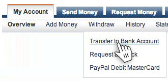 how to transfer money from paypal account to paypal prepaid debit card